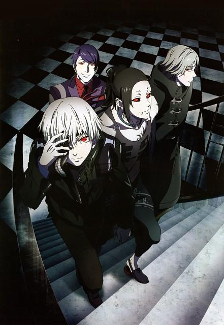 Sui Ishida, Tokyo Ghoul, Uta (Tokyo Ghoul), Shu Tsukiyama, Ken Kaneki