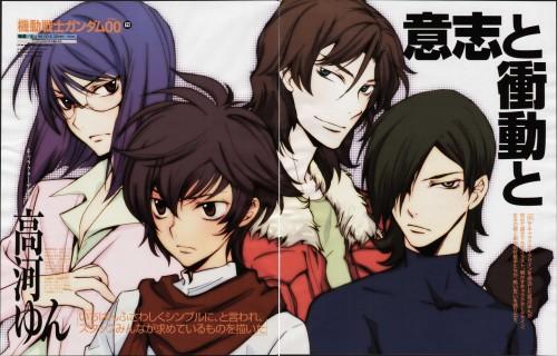 Yun Kouga, Mobile Suit Gundam 00, Setsuna F. Seiei, Allelujah Haptism, Lockon Stratos