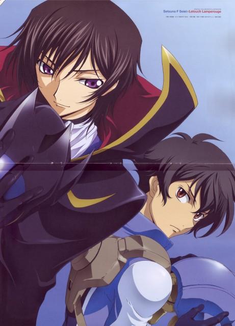 Takahiro Kimura, Sunrise (Studio), Lelouch of the Rebellion, Mobile Suit Gundam 00, Setsuna F. Seiei