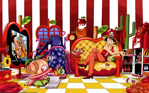 Eiichiro Oda, Toei Animation, One Piece, Tony Tony Chopper, Monkey D. Luffy Wallpaper