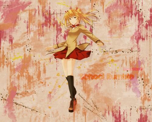 Jin Kobayashi, Studio Comet, School Rumble, Eri Sawachika Wallpaper