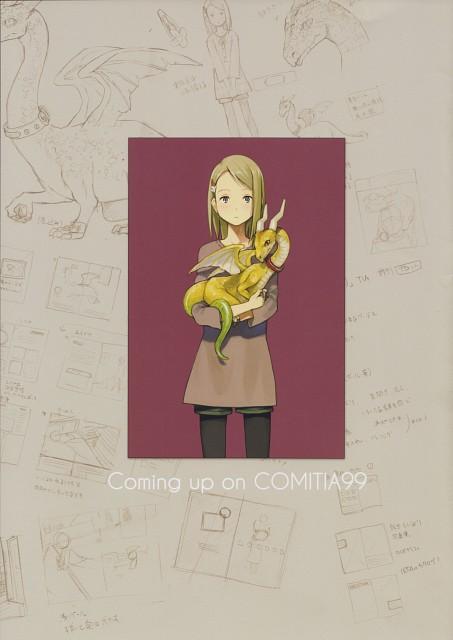 Seiji Yoshida, raccourci, Comic Market, Comic Market 81, Character Sheet
