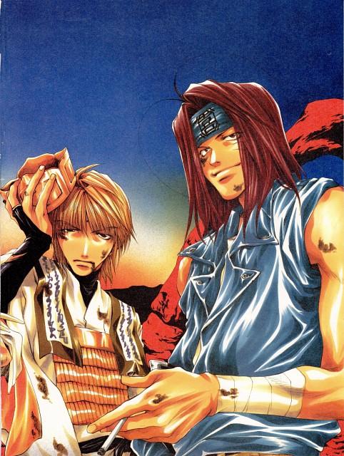 Kazuya Minekura, Studio Pierrot, Saiyuki, Salty Dog I, Sha Gojyo