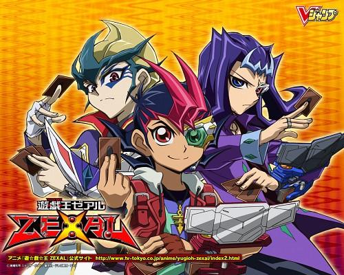 Kazuki Takahashi, Studio Gallop, Yu-Gi-Oh ZEXAL, Kaito Tenjo, Ryoga Kamishiro