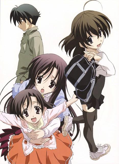 TNK, Overflow, School Days, Kokoro Katsura, Makoto Ito