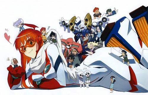 Yoshiyuki Sadamoto, Gainax, Bandai Visual, Top o Nerae 2! Gunbuster, Lal'c Melk Mark