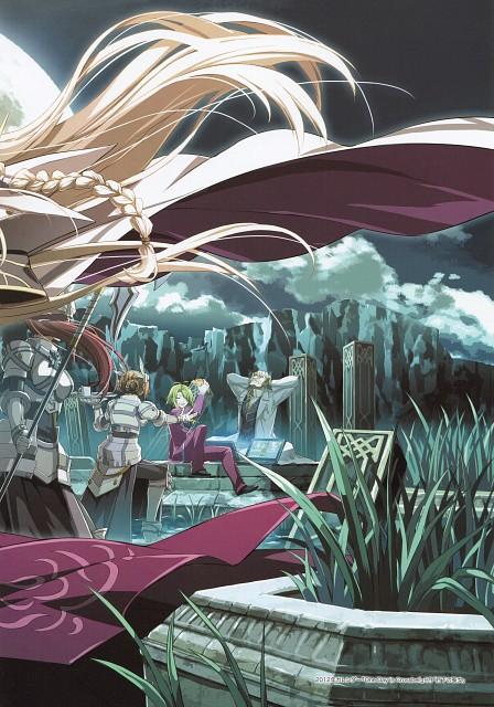 Falcom, The Legend of Heroes Illustration Artbook, The Legend of Heroes: Ao no Kiseki, The Legend of Heroes: Trails in the Sky, The Legend of Heroes: Zero no Kiseki