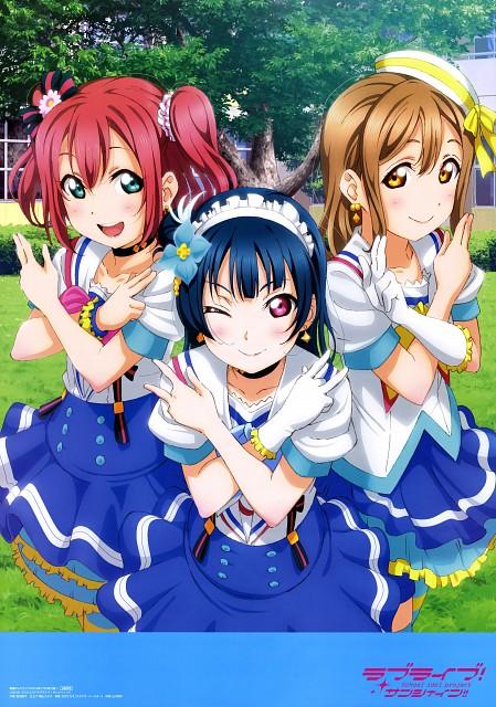 Murota Yuuhei, Sunrise (Studio), Love Live! Sunshine!!, Ruby Kurosawa, Yoshiko Tsushima