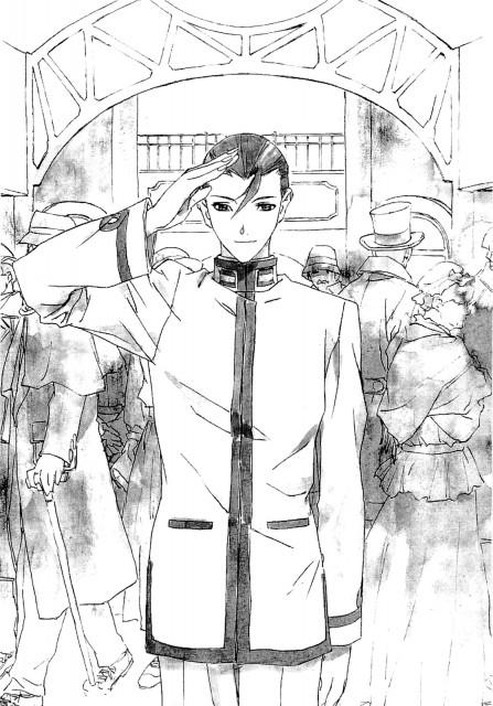 Yuuya Kusaka, Black Blood Brothers, Jiro Mochizuki