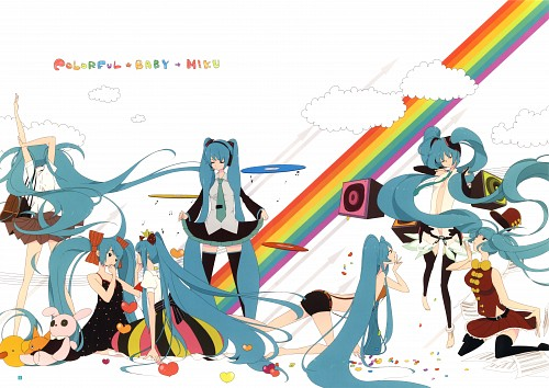 Chiho, Hatsune Miku Graphics Character Collection CV01, Vocaloid, Miku Hatsune