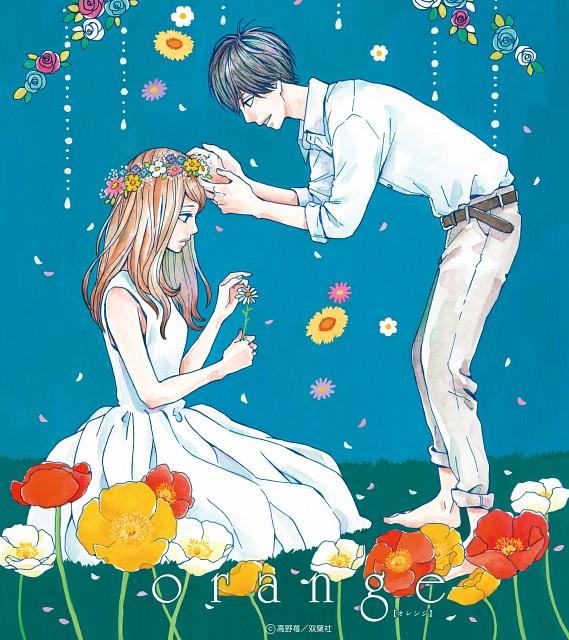 Ichigo Takano, Orange (Series), Kakeru Naruse, Naho Takamiya, Official Wallpaper