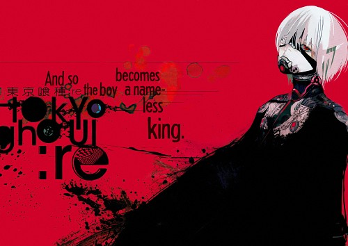Sui Ishida, Tokyo Ghoul, Tokyo Ghoul:RE, Ken Kaneki, Chapter Cover