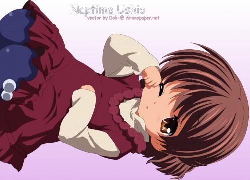 Kyoto Animation, Clannad, Ushio Okazaki, Vector Art