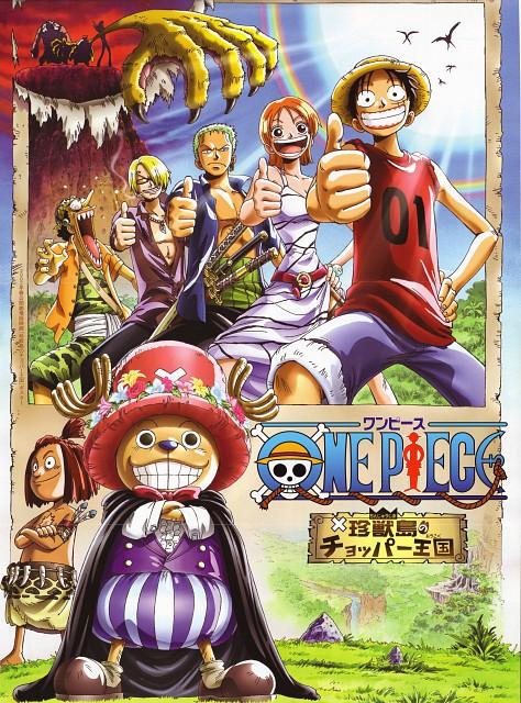 Eiichiro Oda, One Piece, Monkey D. Luffy, Usopp, Tony Tony Chopper