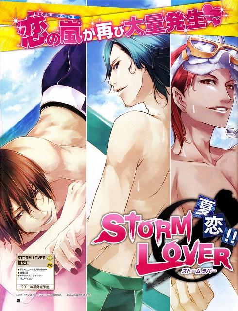 Yasutake Kawahito, Storm Lover, Takumi Mishiro, Souya Tatsuhara, Kyousuke Mikoshiba
