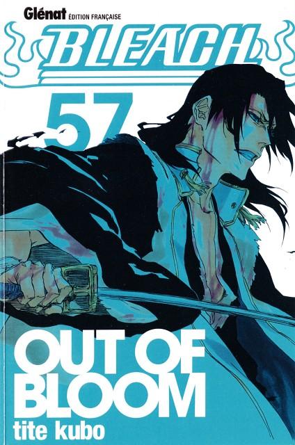 Kubo Tite, Bleach, Byakuya Kuchiki, Manga Cover
