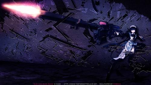 huke, Black Rock Shooter, Miss Maid Sniper Wallpaper