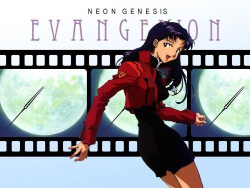 Yoshiyuki Sadamoto, Neon Genesis Evangelion, Misato Katsuragi Wallpaper