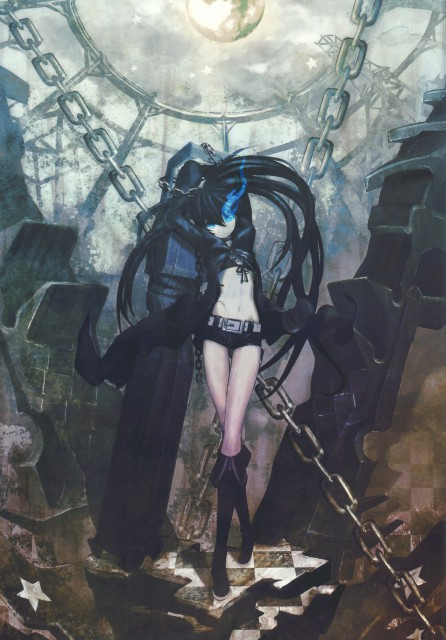 huke, Black Rock Shooter, BLK, Black Rock Shooter (Character), Comic Market 76