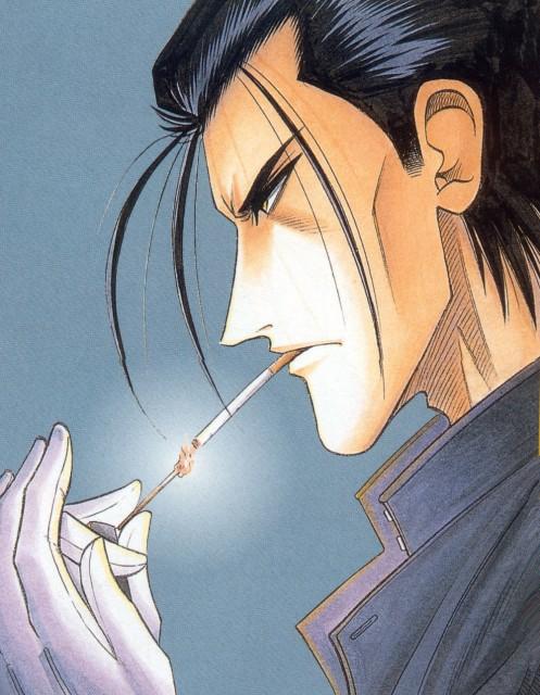 Nobuhiro Watsuki, Rurouni Kenshin, Hajime Saitou