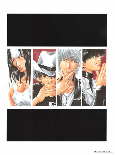 Kazuya Minekura, Studio Pierrot, Saiyuki, Backgammon 3, Cho Hakkai