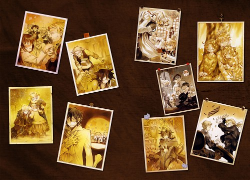Jun Mochizuki, Xebec, Pandora Hearts, Pandora Hearts ~odds and ends~, Sharon Rainsworth