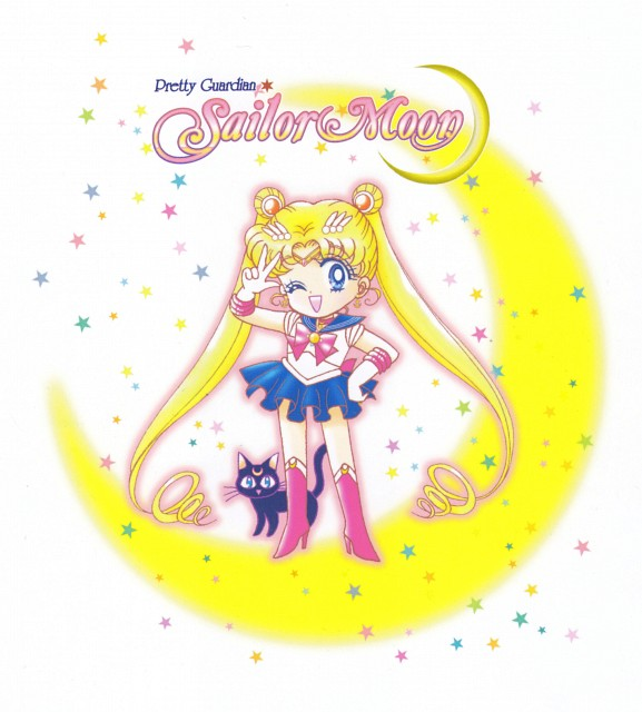 Naoko Takeuchi, Bishoujo Senshi Sailor Moon, Luna, Sailor Moon, Manga Cover