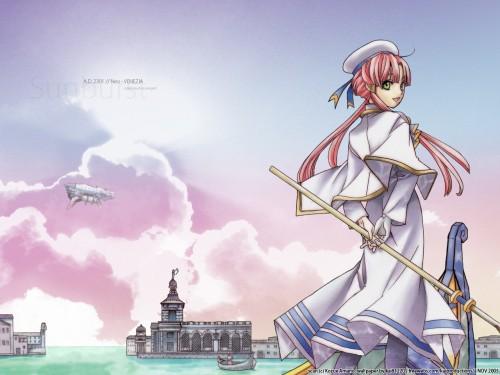 Kozue Amano, Aria, Akari Mizunashi Wallpaper