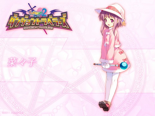 AQUAPLUS, To Heart 2, Nanako, Official Wallpaper