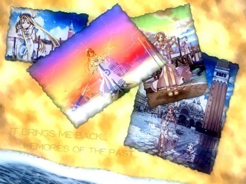 Kozue Amano, Aria, Aria Shachou, Alicia Florence, Akari Mizunashi Wallpaper