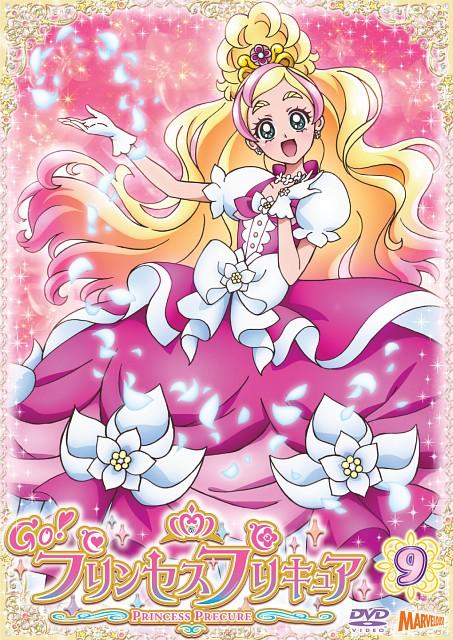 Toei Animation, Go! Princess Precure, Cure Flora, DVD Cover, Official Digital Art