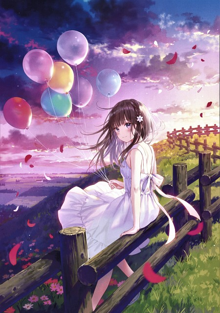 Sanba Fukahire, Ephemeral, Artbook Cover