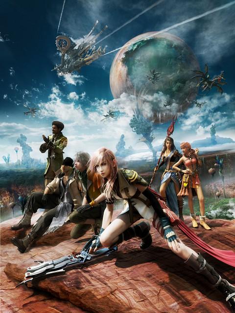 Square Enix, Final Fantasy XIII, Oerba Dia Vanille, Lightning (FF XIII), Hope Estheim