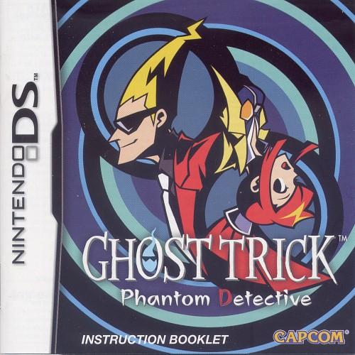 Capcom, Ghost Trick: Phantom Detective, Video Game Cover