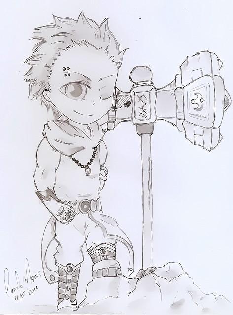 Fairy Tail, Loki (Fairy Tail), Member Art