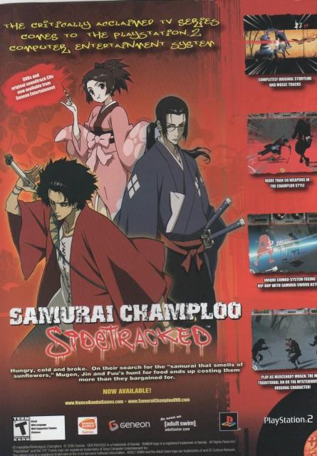 Samurai Champloo, Fuu, Jin, Mugen