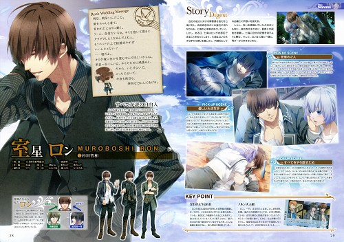 Teita, Idea Factory, NORN9 Premium Book, NORN9, Nanami Shiranui