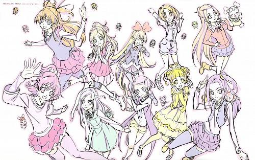 Toei Animation, DokiDoki! Precure, Suite Precure, Takahashi Akira Toei Animation Precure Works, Regina (DokiDoki! Precure)