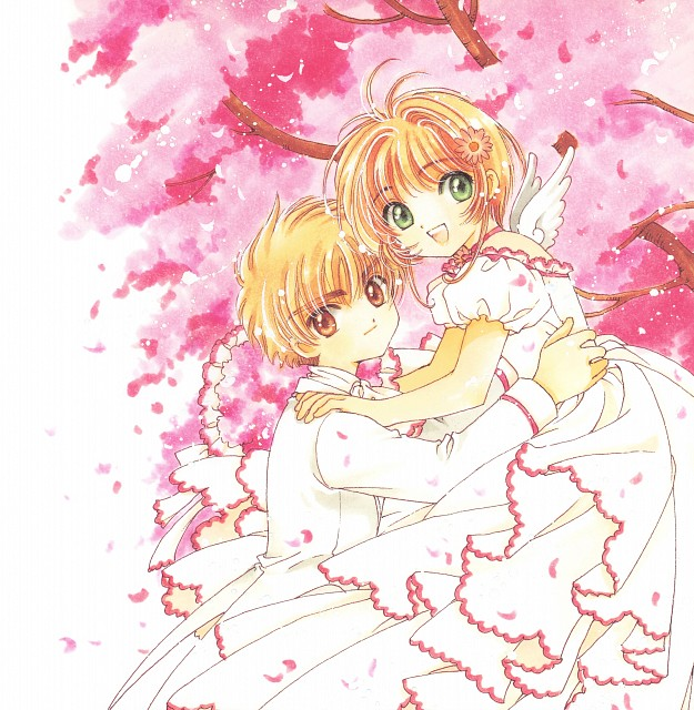 CLAMP, Cardcaptor Sakura, Cardcaptor Sakura Illustrations Collection 3, Syaoran Li, Sakura Kinomoto