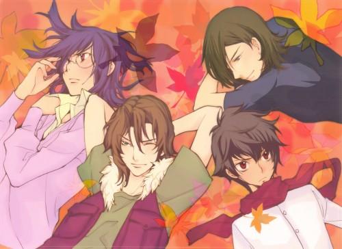 Yun Kouga, Mobile Suit Gundam 00, Tieria Erde, Setsuna F. Seiei, Allelujah Haptism