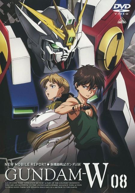 Bandai Visual, Sunrise (Studio), Mobile Suit Gundam Wing, Heero Yuy, Relena Peacecraft