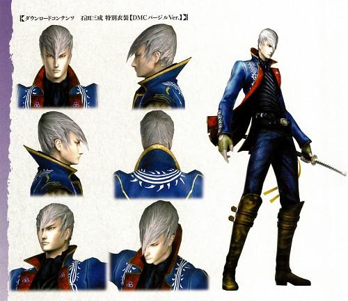 Production I.G, Capcom, Sengoku Basara, Mitsunari Ishida (Sengoku Basara), Character Sheet