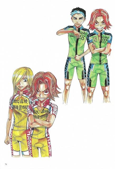 Wataru Watanabe, TMS Entertainment, Yowamushi Pedal, Yowamushi Pedal Colors, Ryuuhou Danchiku