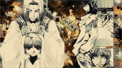 Kazuya Minekura, Studio Pierrot, Saiyuki, Koumyou Sanzo, Genjyo Sanzo Wallpaper