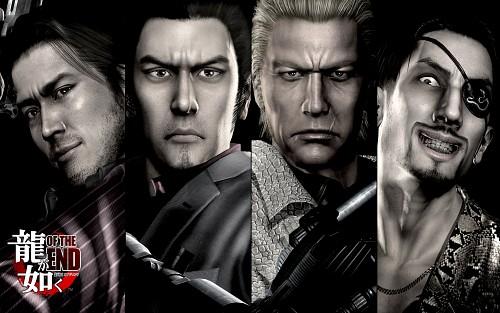 Ryu ga Gotoku, Ryu ga Gotoku of the End, Majima Goro, Kiryu Kazuma, Shun Akiyama