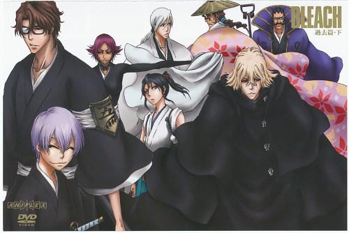 Studio Pierrot, Bleach, Juushirou Ukitake, Gin Ichimaru, Shunsui Kyouraku