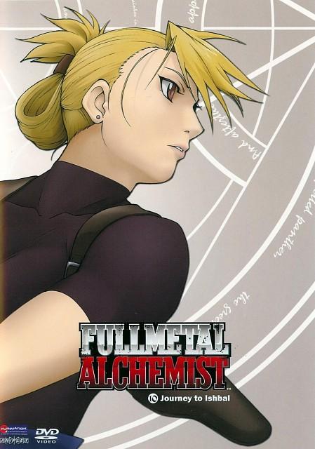 BONES, Fullmetal Alchemist, Riza Hawkeye, DVD Cover