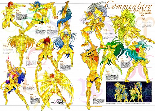 Shiori Teshirogi, TMS Entertainment, Saint Seiya, Saint Seiya: The Lost Canvas, Capricorn El Cid