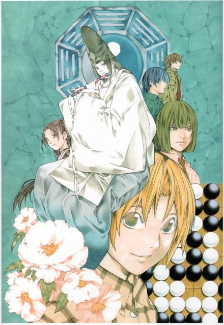 Takeshi Obata, Hikaru no Go, Blanc et Noir, Akari Fujisaki, Hikaru Shindo