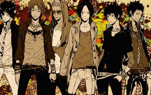 Akira Amano, Artland, Katekyo Hitman Reborn!, Ryohei Sasagawa, Kyoya Hibari Wallpaper